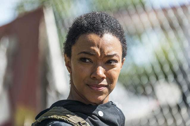 <p>Like Beth, Sasha is another TV-only character who wound up dead. Apparently, producers liked actress Sonequa Martin-Green so much, they created a new character for her. She first showed up with brother Tyreese (who doesn't have a sister in the comics, but a daughter) and became a pretty good sharp-shooter. Elements of her storyline were taken from the comics character of Holly, as well as other minor figures.<br><br>(Photo Credit: Gene Page/AMC) </p>