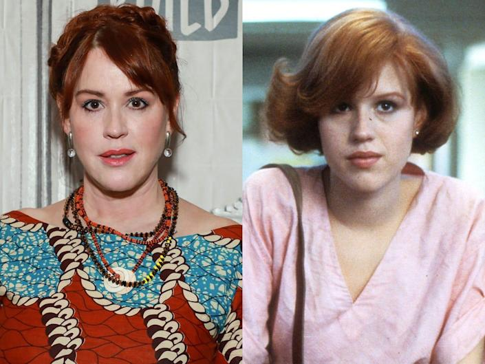 , Molly Ringwald says she hasn't 'found the strength' to show her beloved '80s movies to her 'woke' 12-year-old daughter, The Evepost National News