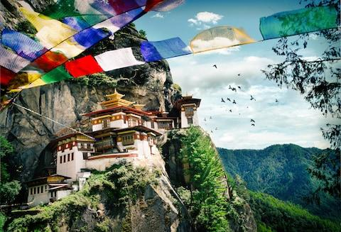 Explore the Himalayan kingdom of Bhutan - Credit: GETTY