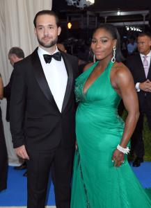 Alexis Ohanian and Serena Williams at the Met Gala in May.