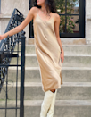 """I have this slip dress in two colors already and I'm using Cyber Monday as an excuse to buy a third. It's incredibly high-quality for the price; I've worn it in the summer, the winter, to weddings, to lay around my apartment—you name it. It's a great wardrobe staple! —<em>K.C.</em> $118, Aritzia. <a href=""""https://www.aritzia.com/us/en/product/only-slip-dress/75717002.html?dwvar_75717_color=1166"""" rel=""""nofollow noopener"""" target=""""_blank"""" data-ylk=""""slk:Get it now!"""" class=""""link rapid-noclick-resp"""">Get it now!</a>"""
