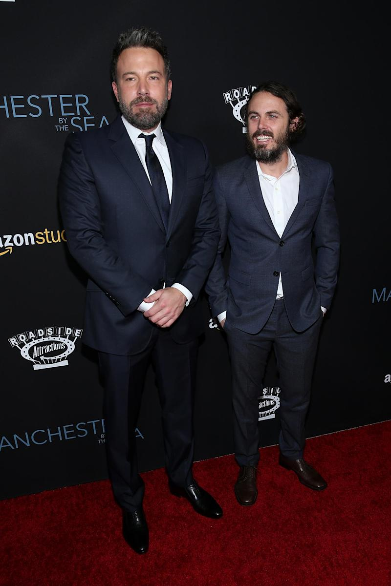 Ben Affleck with his brother Casey Affleck (Getty Images)