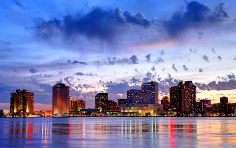 New Orleans waterfront - Credit: Getty