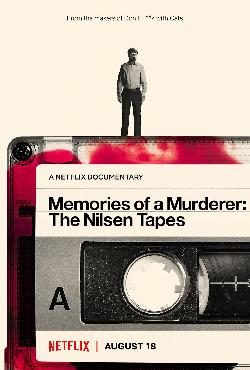 Memories of a Murderer: The Nilsen Tapes launches on Netflix on 18 August (Netflix)