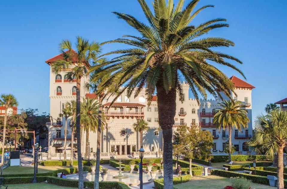 "<p>If you're looking to visit America's oldest city—St. Augustine—<a href=""https://www.kesslercollection.com/casa-monica/"" rel=""nofollow noopener"" target=""_blank"" data-ylk=""slk:Casa Monica"" class=""link rapid-noclick-resp"">Casa Monica</a> is one of the most luxurious properties around, enjoyed by tourists, locals, and celebrities. The gorgeous property was restored in 1999, preserving its timeless, Old World charm and Spanish romanticism.</p><p> This Kessler Collection property majestically overlooks St. Augustine's vibrant downtown district and Mantanzas Bay, making it the perfect locale for those looking to explore the city. From its 138 uniquely distinct guest rooms, fabulous offerings at the Poseidon Spa, and Grand Bohemian art and sculpture gallery, this is the way to experience the history and culture of Florida. </p>"