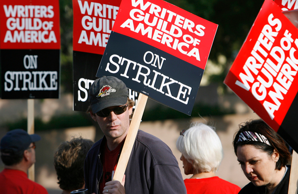 How will a TV writers strike affect viewers?