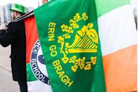 """<p>The Gaelic phrase is best translated as """"Ireland Forever"""" in English, and is basically a way of showing affection and support for the country. You can also incorporate some other Irish terms during the day, like saying """"sláinte"""" when you cheers.</p>"""