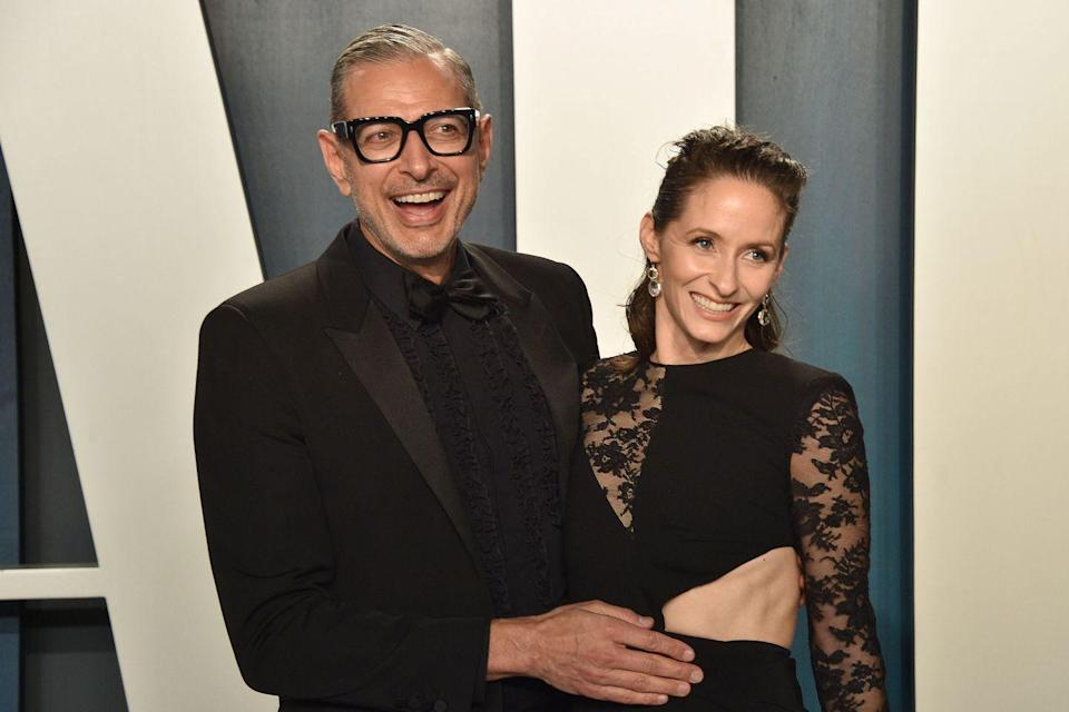 <p>Jeff Goldblum, 67, and former gymnast, Emilie Livingston, 37, got married in 2014. Since then, the happy couple, who boasts a 30-year age difference, has welcomed two sons together. </p>