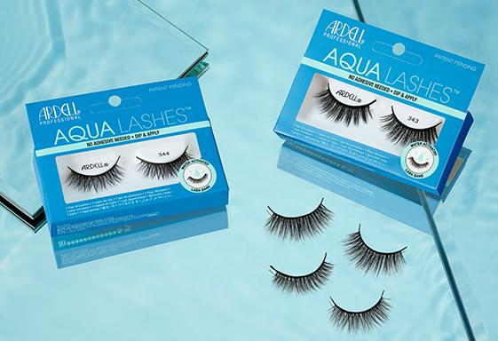 Ardell Aqua Lashes are a mess-free solution for adding some flair. Image via Ardell.