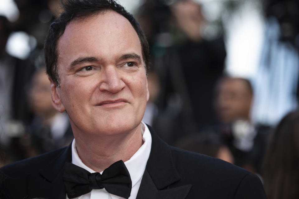 Quentin Tarantino poses for photographers upon arrival at the awards ceremony of the 72nd international film festival, Cannes, southern France, Saturday, May 25, 2019. (Photo by Vianney Le Caer/Invision/AP)