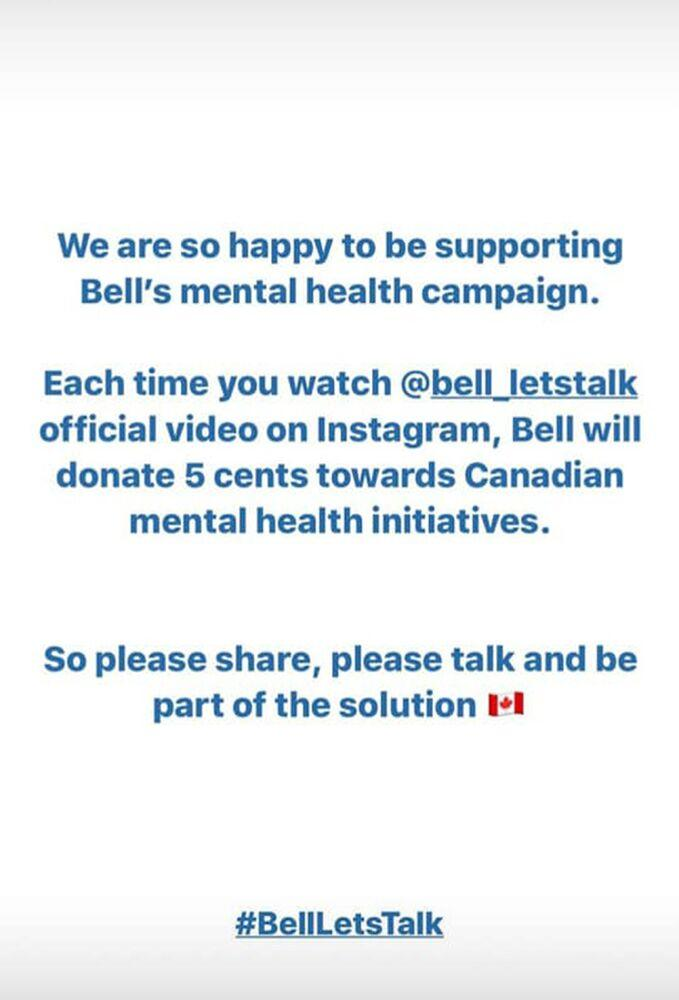 Meghan Markle and Prince Harry support Bell Let's Talk | Sussex Royal/Instagram