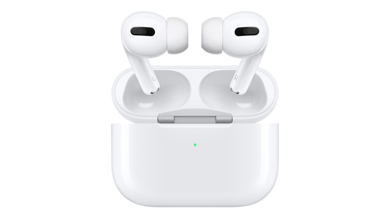 "AirPods Pro are the first in-ear headphones to have Active Noise Cancellation technology. So, they continuously adapt to block out the world around you. The smart headphones also came with an all-new design that brings improved comfort thanks to a flexible silicone ear tip that conforms to your individual ear shape.<a href=""https://amzn.to/2YgjzYB""><strong>Shop now</strong></a>."