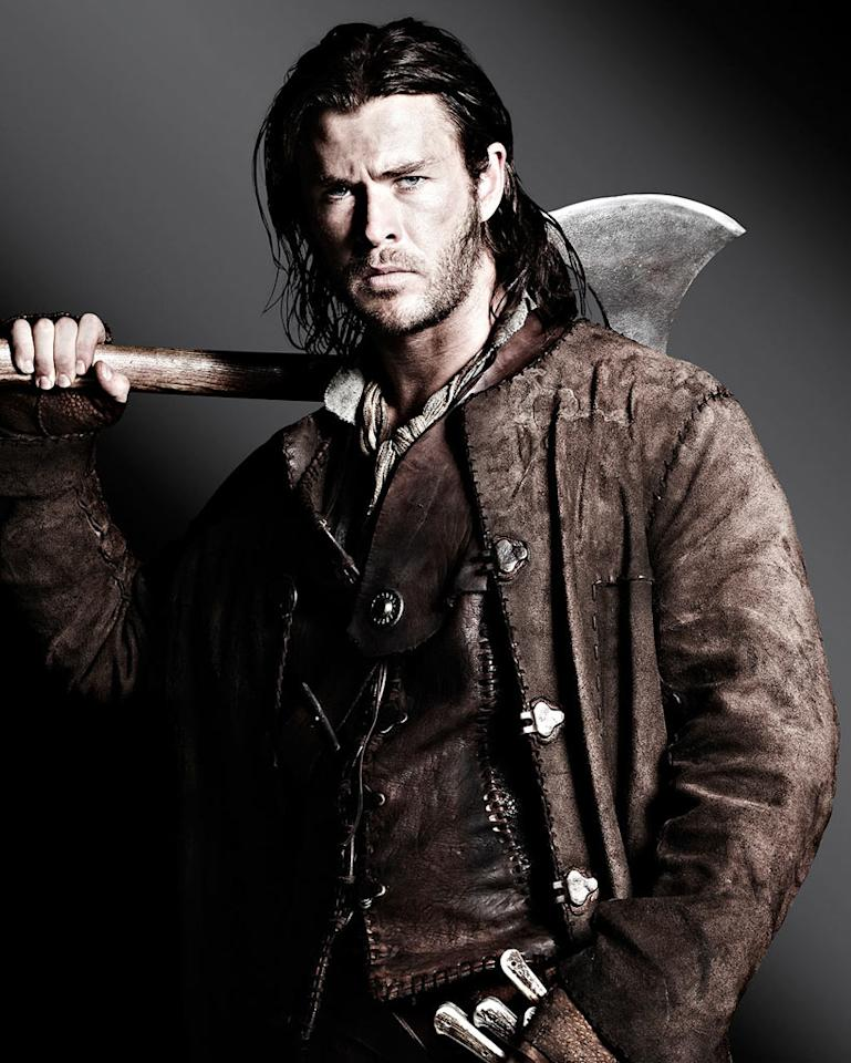 """Chris Hemsworth in Universal Pictures' """"Snow White and the Huntsman"""" - 2012"""