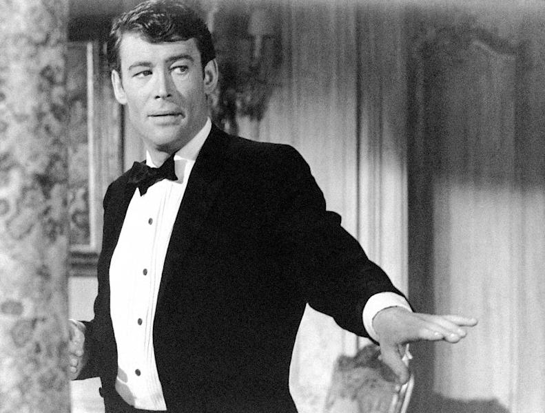 """FILE - This 1965 file photo released by 20th Century Fox shows actor Peter O'Toole in a scene from """"How to Steal a Million Dollars and Live Happily Ever After."""" O'Toole, the charismatic actor who achieved instant stardom as Lawrence of Arabia and was nominated eight times for an Academy Award, has died. He was 81. O'Toole's agent Steve Kenis says the actor died Saturday, Dec. 14, 2013 at a hospital following a long illness. (AP Photo/Twentieth Century-Fox)"""