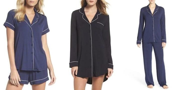 The Moonlight Lingerie pajamas are among Nordstrom reviewer's favorites.
