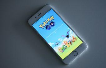 Nintendo Co.'s Pokemon Go is displayed on a smartphone in Tokyo, Japan, on Tuesday, July 12, 2016. Pokemon Go debuted last week on iPhones and Android devices in the U.S., Australia, and New Zealand, letting players track down virtual characters in real locations using their smartphones. Nintendo is an investor in Niantic Inc., the games developer. Photographer: Akio Kon/Bloomberg via Getty Images