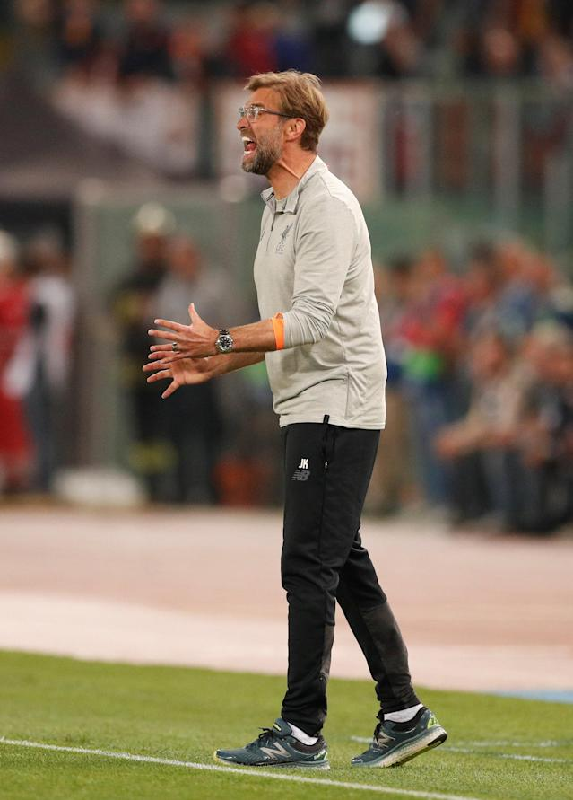 Soccer Football - Champions League Semi Final Second Leg - AS Roma v Liverpool - Stadio Olimpico, Rome, Italy - May 2, 2018 Liverpool manager Juergen Klopp Action Images via Reuters/John Sibley