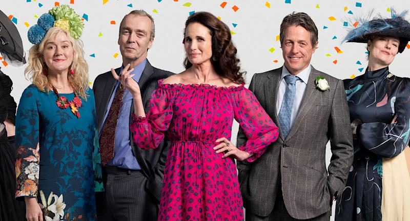 First Look At Four Weddings And A Funeral Charity Sequel Revealed