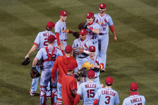 O'Neill, DeJong HR, Cardinals sweep doubleheader from Cubs