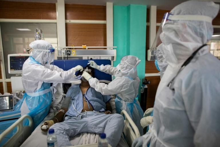 India's health service has been struggling to cope with the coronavirus, which is killing nearly 500 people a day
