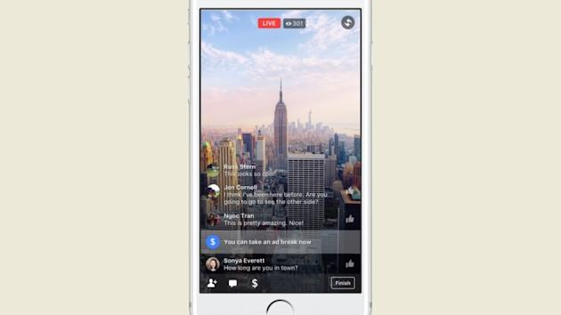Facebook Is Expanding Ad Breaks for Live and Uploaded Video
