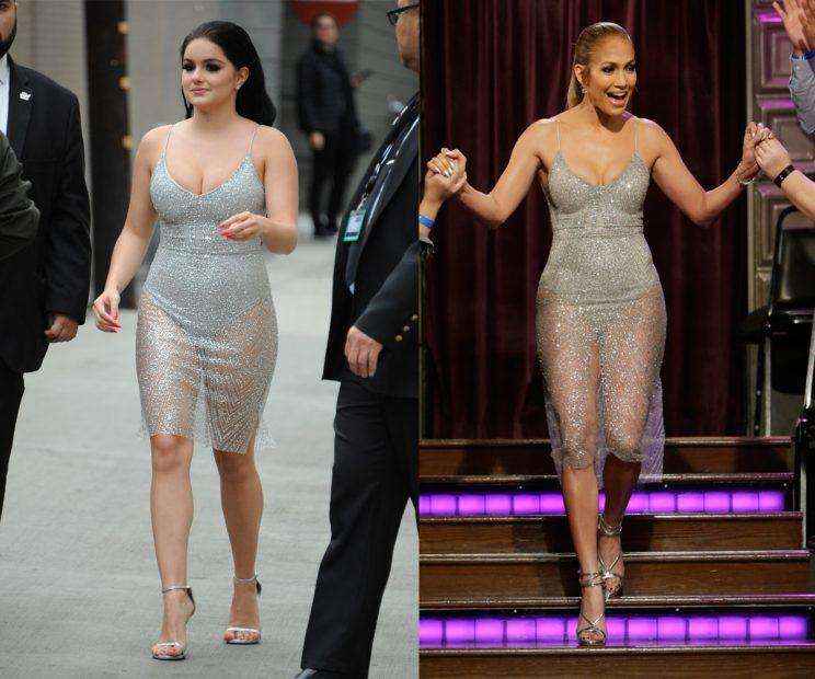 Ariel Winter Wore the Same Sexy $110 Dress as Jennifer Lopez