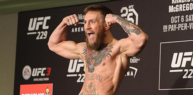Conor McGregor UFC 229 Early Weigh-in