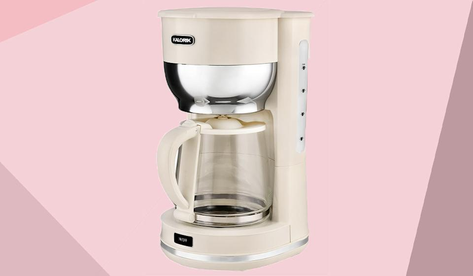 This coffeemaker is available in both black and cream. (Photo: Nordstrom Rack)