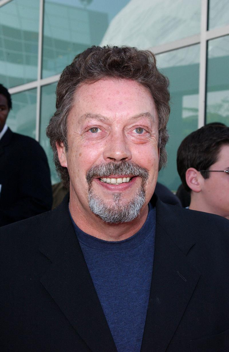 "Photo by: Lee Roth STAR MAX, Inc. - copyright 2003 ALL RIGHTS RESERVED Telephone/Fax (212) 995-1196 6/1/03 Tim Curry at the world premiere of ""Rugrats Go Wild"". (Hollywood, CA) (Star Max via AP Images)"