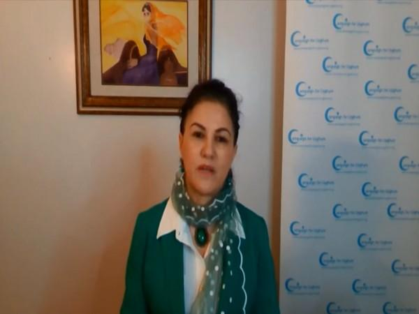 Uyghur American and rights advocate Rushan Abbas