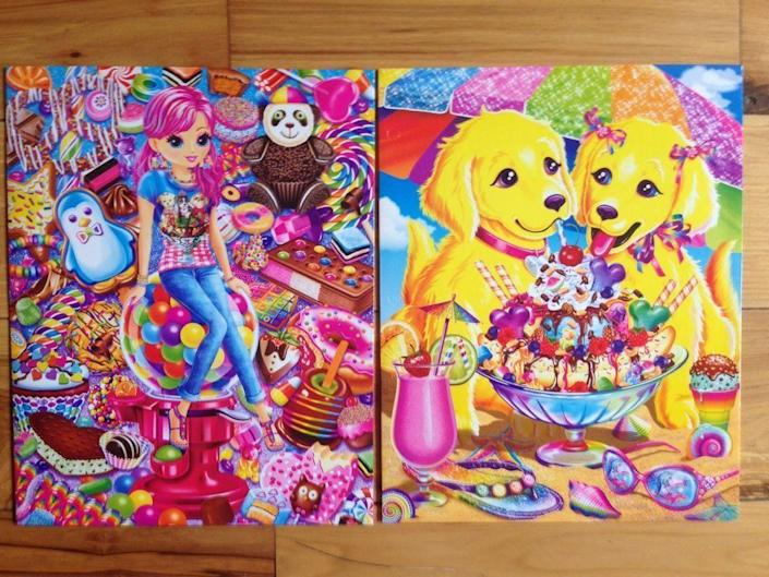 <p>You can't talk about old school supplies without mentioning the OG, Lisa Frank. In the '90s, the colorful, fun, whimsical images from the brand were everywhere: on folders, notebooks, Trapper Keepers, lunch boxes, erasers, pencils, and so much more. You can still purchase Lisa Frank, and while it has a nostalgic quality to it, it's not the same.</p>