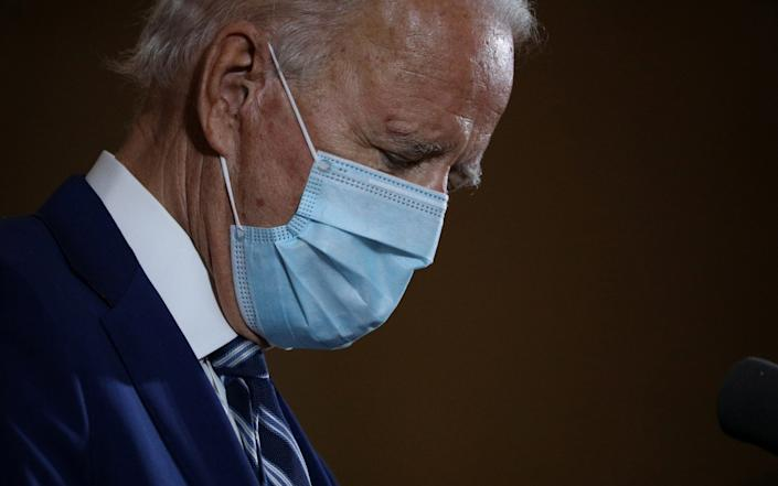 Mr Trump has consistently attacked Joe Biden's mental acuity - Tom Brenner/Reuters