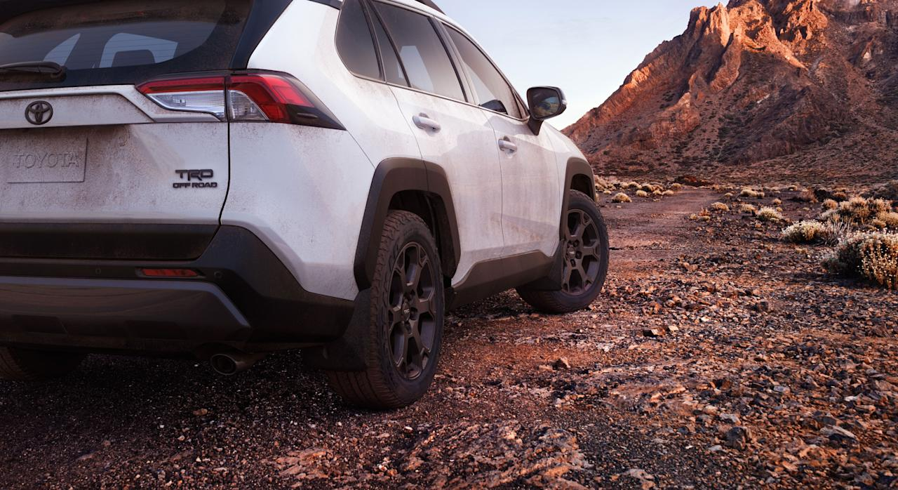 Toyota RAV4 TRD Off-Road unveiled