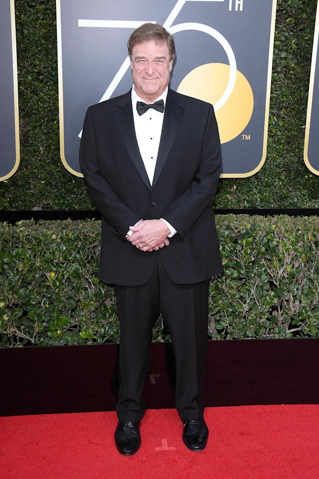 John Goodman attends the 75th Golden Globe Awards at the Beverly Hilton Hotel. Photo: (Venturelli/WireImage)