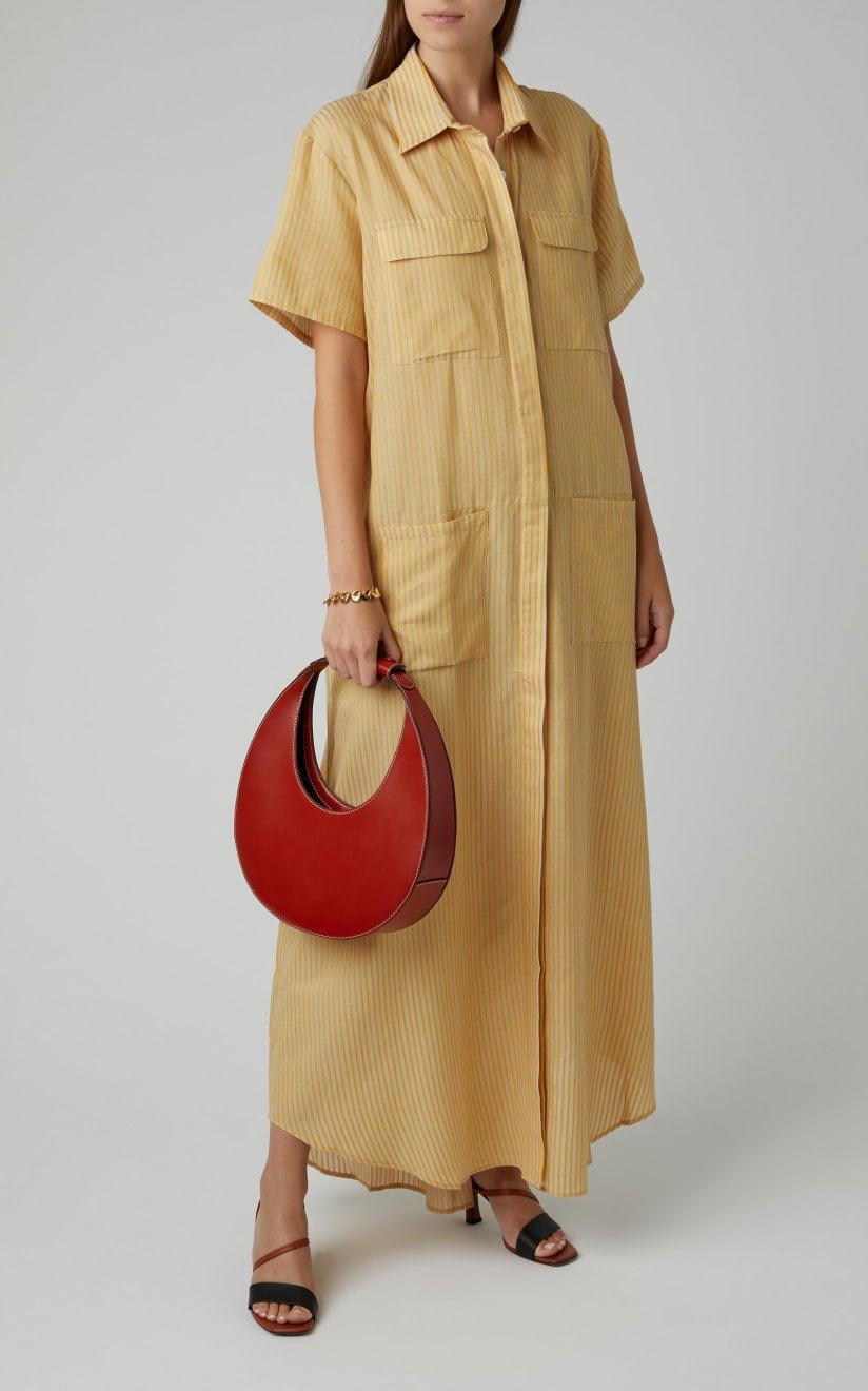 <p>Stylish and sophisticated but just a little dreamy, the <span>Staud Moon Bag</span> ($295) is the perfect addition to any Sagittarius's wardrobe.</p>