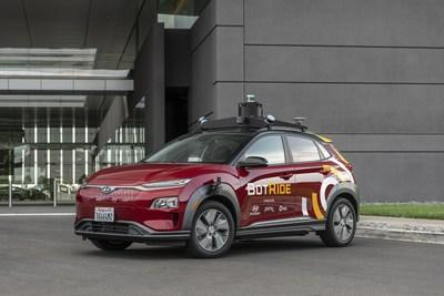 Hyundai, in collaboration with Pony.ai and Via, today unveiled BotRide, a shared, on-demand, autonomous vehicle service operating on public roads. Starting today, a fleet of self-driving Hyundai KONA Electric SUVs will provide a free ride-sharing service to the local community of Irvine, California. BotRide will run from November 4, 2019 through January 31, 2020 as part of the pilot phase of the program.