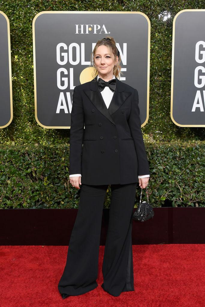 <p>Judy Greer attends the 76th Annual Golden Globe Awards at the Beverly Hilton Hotel in Beverly Hills, Calif., on Jan. 6, 2019. (Photo: Getty Images) </p>