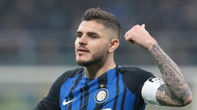 Inter star Mauro Icardi scored four times against Sampdoria on Sunday, bringing up three figures in Serie A goals.
