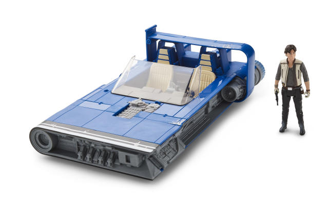 Han Solo's landspeeder (Photo: Hasbro)