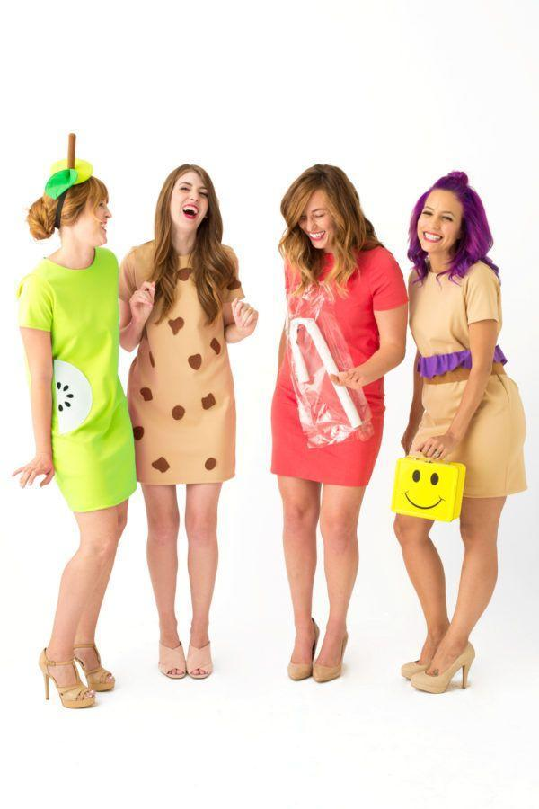 """<p>Now this is a creative a costume idea. Pack yourself (and your friends!) up as classic school lunch eats, including an adorable juice box.</p><p><strong>Get the tutorial at <a href=""""https://studiodiy.com/2016/10/19/diy-school-lunch-costumes/"""" rel=""""nofollow noopener"""" target=""""_blank"""" data-ylk=""""slk:Studio DIY"""" class=""""link rapid-noclick-resp"""">Studio DIY</a>.</strong></p><p><strong><a class=""""link rapid-noclick-resp"""" href=""""https://www.amazon.com/Haola-Womens-Casual-Dresses-Juniors/dp/B0759WV9XJ?tag=syn-yahoo-20&ascsubtag=%5Bartid%7C10050.g.21349110%5Bsrc%7Cyahoo-us"""" rel=""""nofollow noopener"""" target=""""_blank"""" data-ylk=""""slk:SHOP BROWN DRESSES"""">SHOP BROWN DRESSES</a><br></strong></p>"""