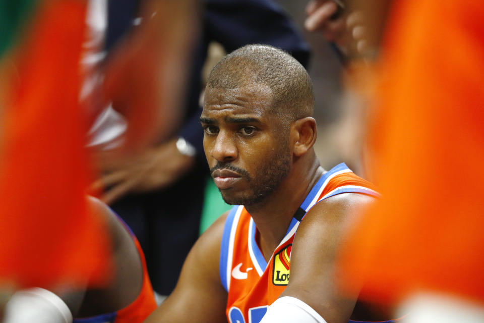 Chris Paul is submitting another chapter to his Hall of Fame career. (Omar Rawlings/Getty Images)