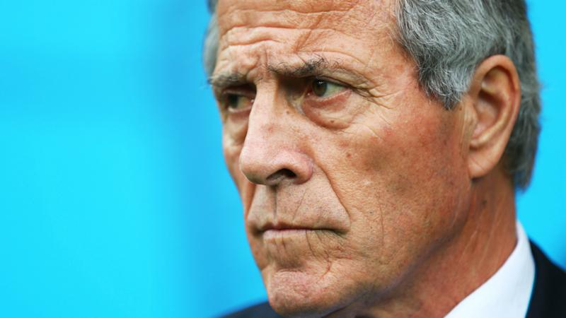 Tabarez: Uruguay hurting after Brazil rout