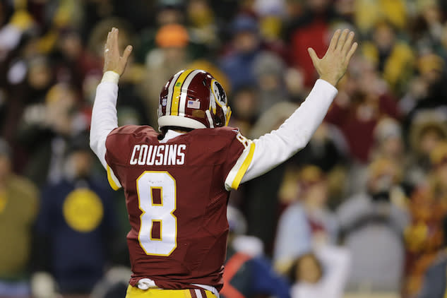 Kirk Cousins finished QB6 last year in standard leagues. More of the same in 2017? (AP)