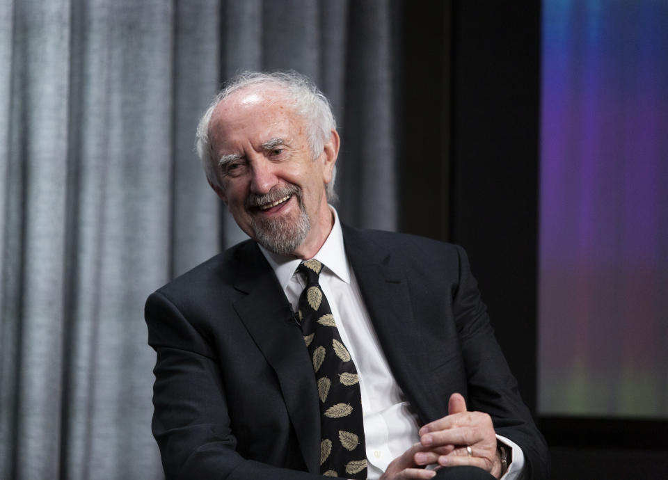 Jonathan Pryce attends a SAG career retrospective event on January 27, 2020. (Photo by Vincent Sandoval/Getty Images)