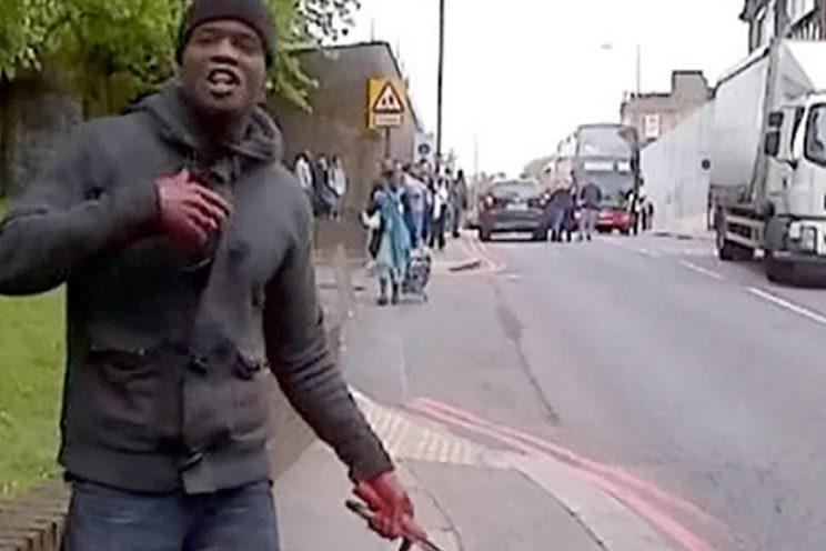 Adebolajo after the murder of Rigby in 2013 (Rex)