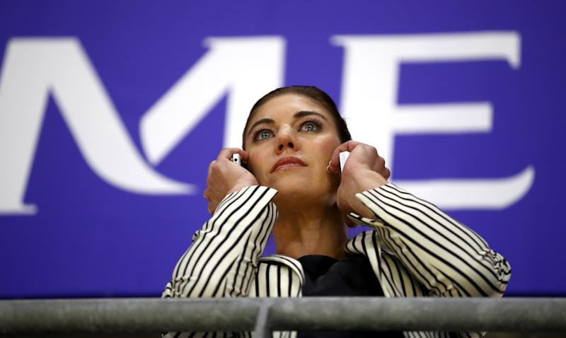 In a 10-page motion filed on Monday, Hope Solo called for legal action to be taken against her former teammates after they didn't let her join their equal-pay mediations with the U.S. Soccer Federation.