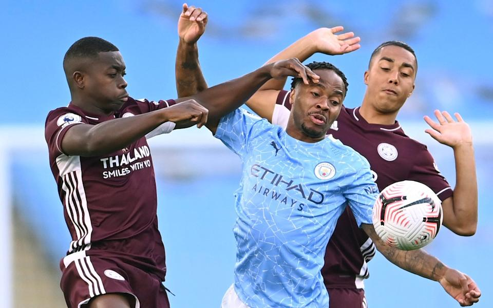 Sterling starts up front for City - GETTY IMAGES