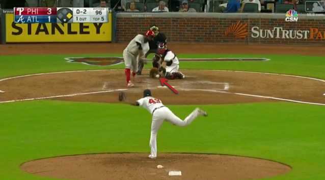 Odubel Herrera literally goes down to get a pitch that was nearly in the dirt, and then turns it into a home run. (MLB.com)