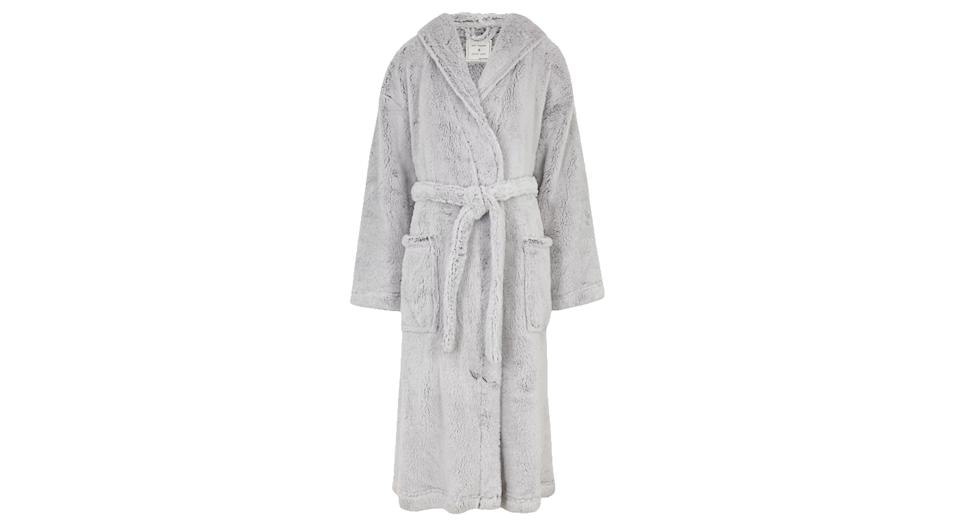Hooded Dressing Gown