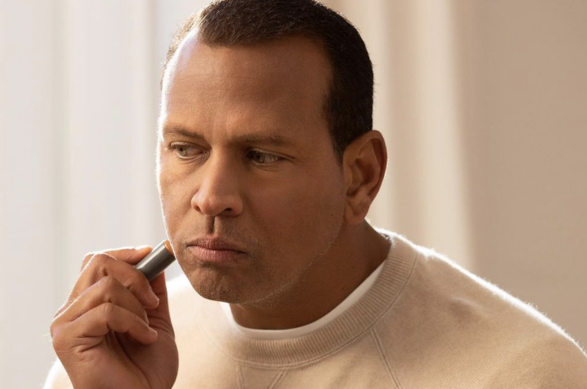 Alex Rodriguez has a line of concealer targeting men like him that want to feel good about their skin. (Photo: Instagram)
